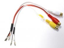 Переходник TEC-1213 – RCA для AV входа на Audi и MB
